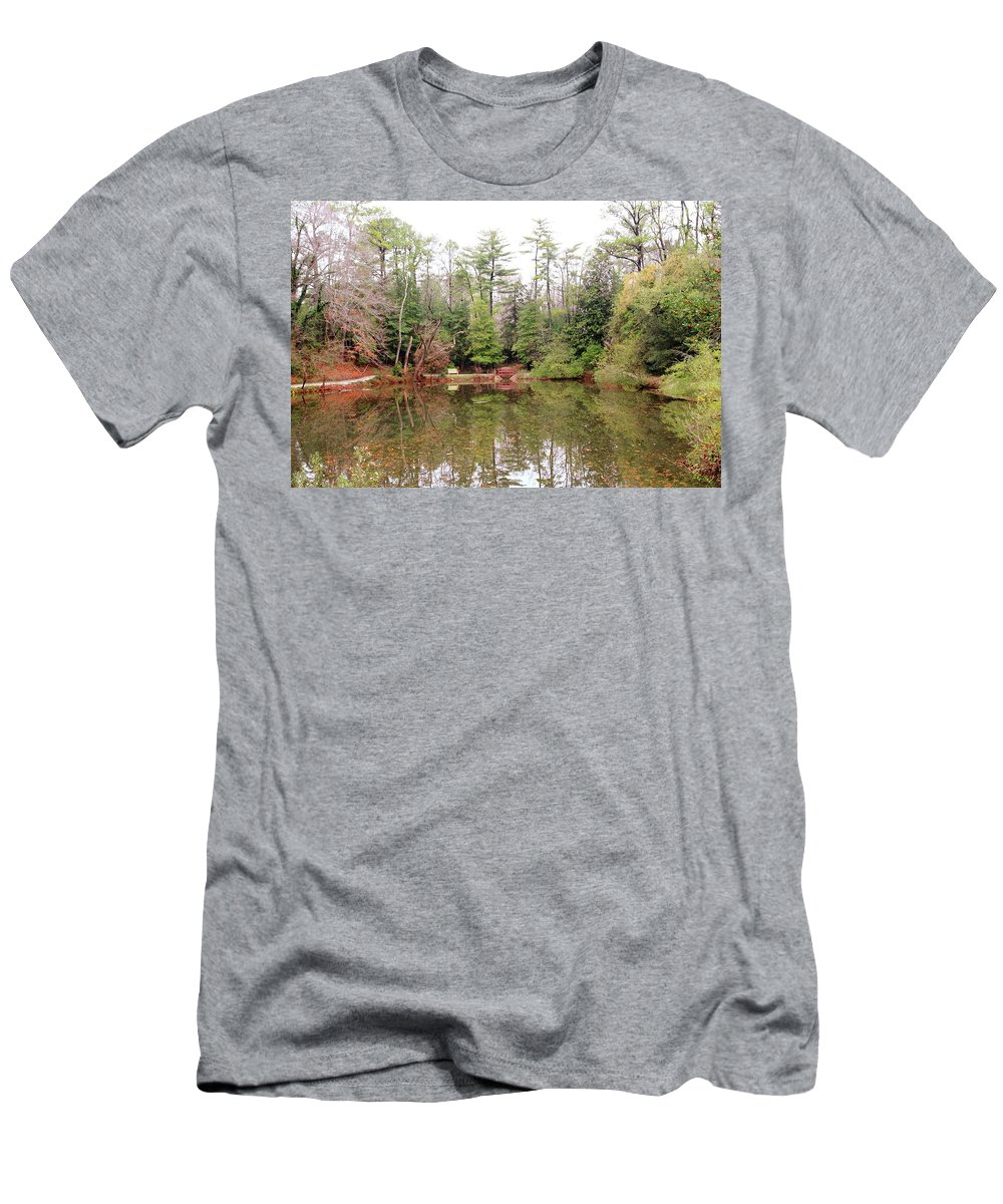 American Men's T-Shirt (Athletic Fit) featuring the photograph Reflections by Lou Ford