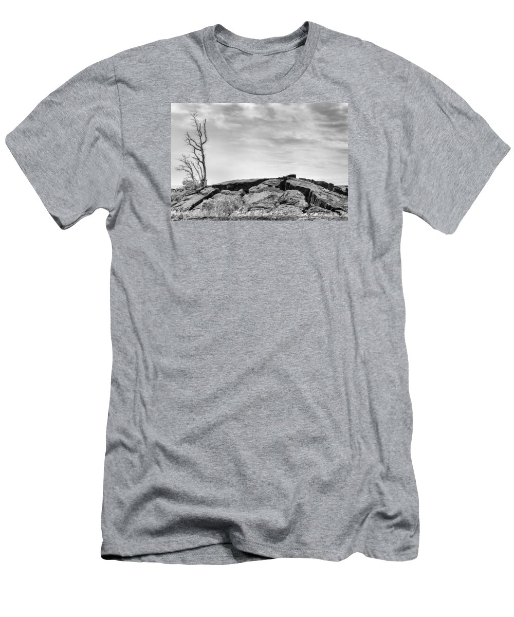 Puna Men's T-Shirt (Athletic Fit) featuring the photograph Rise by Ryan Manuel