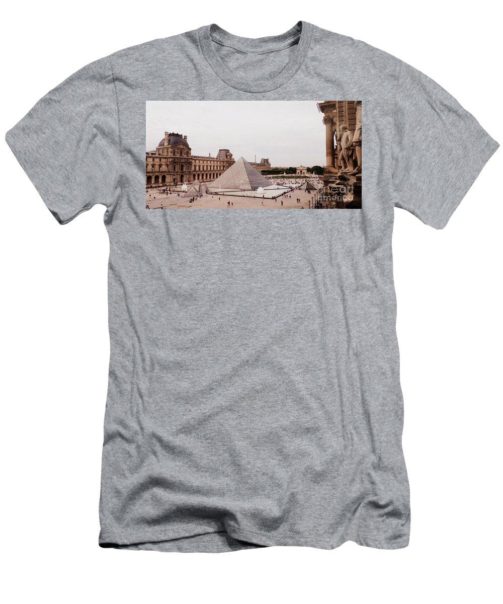 Paris Men's T-Shirt (Athletic Fit) featuring the photograph Rise Up by Kristie Rocca