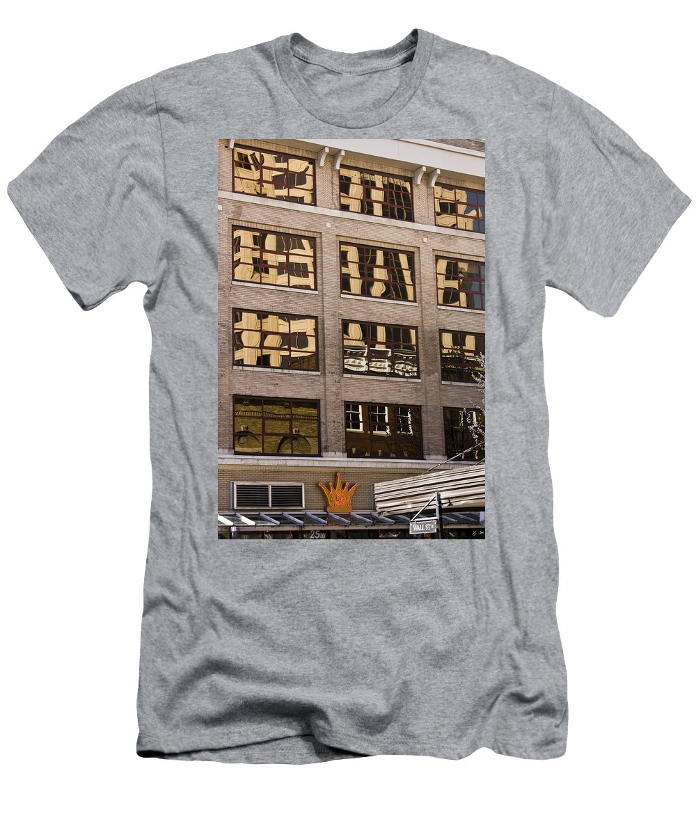 Roanoke Men's T-Shirt (Athletic Fit) featuring the photograph Roanoke Reflection by Teresa Mucha