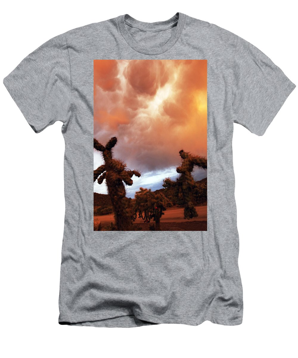 Storm Men's T-Shirt (Athletic Fit) featuring the photograph Roiling Sky by Jill Reger