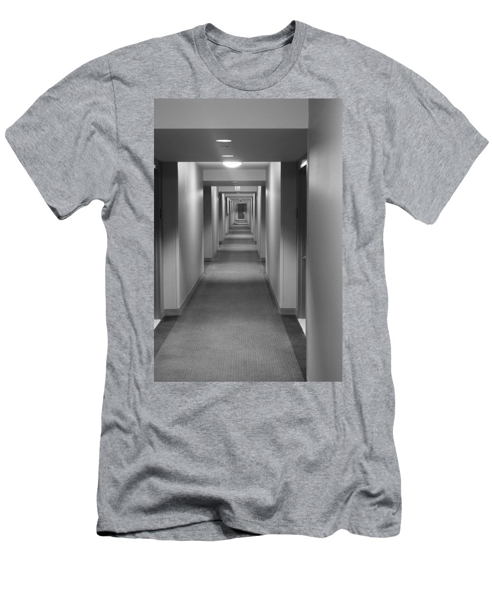 Hotel Men's T-Shirt (Athletic Fit) featuring the photograph Room Service by Lauri Novak