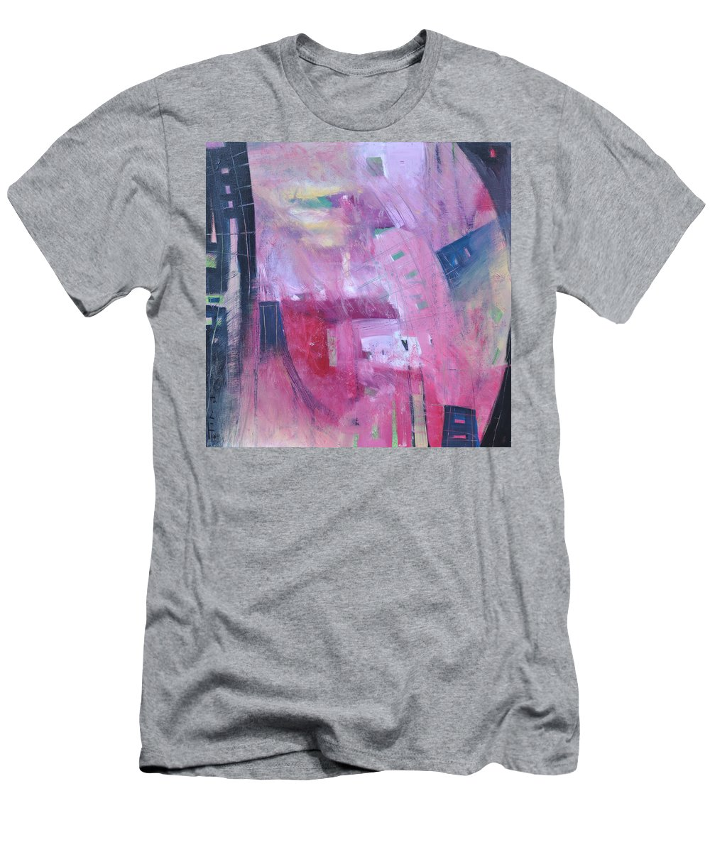 Rose Men's T-Shirt (Athletic Fit) featuring the painting Rose Room by Tim Nyberg