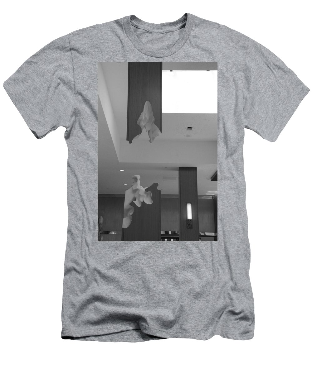 Abstract Men's T-Shirt (Athletic Fit) featuring the photograph Rotton Stanchon by Rob Hans