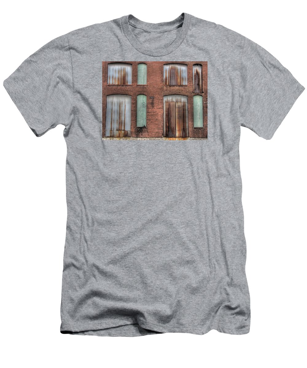 Rust Men's T-Shirt (Athletic Fit) featuring the photograph Rust Never Sleeps by Jane Linders