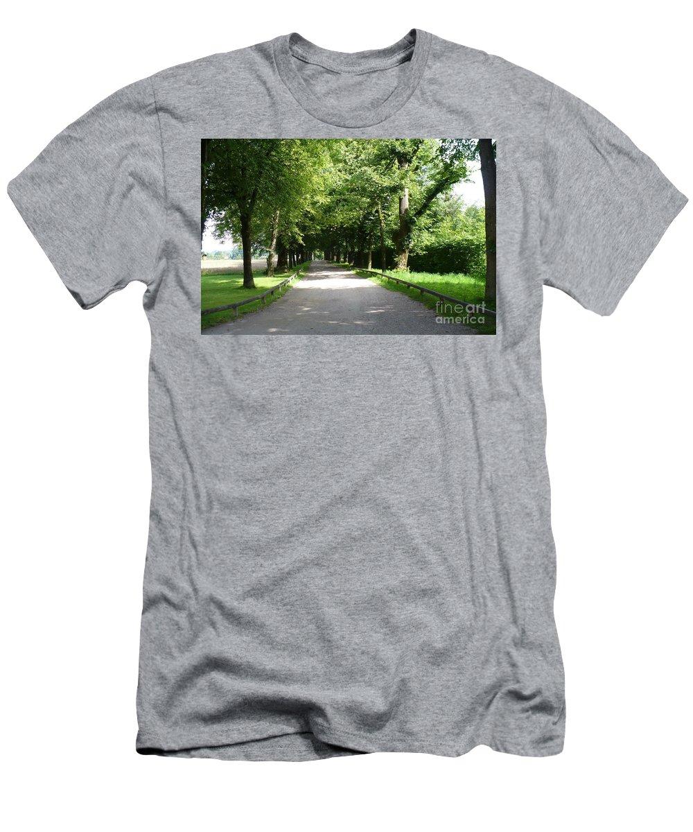 Austria T-Shirt featuring the photograph Salzburg Lane by Carol Groenen