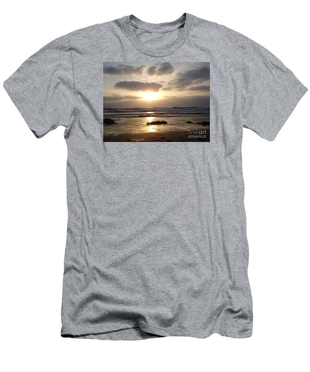 Beach Men's T-Shirt (Athletic Fit) featuring the photograph San Diego 2 by Madilyn Fox