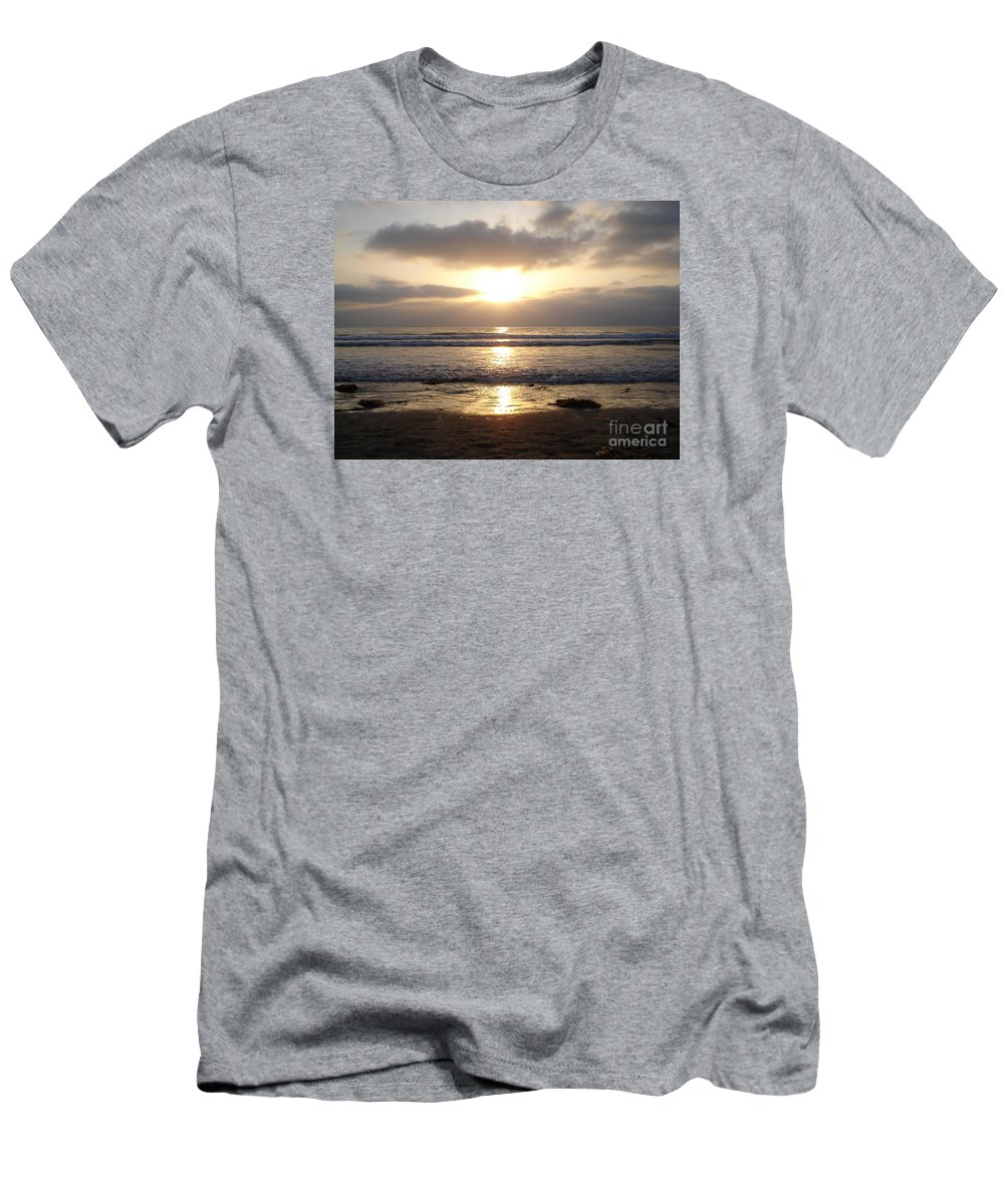 San Diego Men's T-Shirt (Athletic Fit) featuring the photograph San Diego 3 by Madilyn Fox