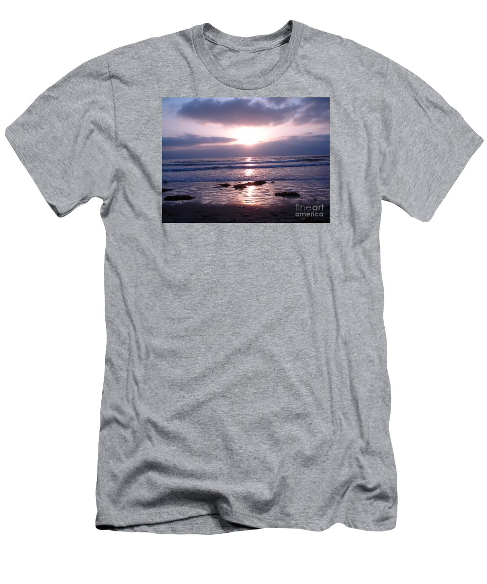 San Diego Men's T-Shirt (Athletic Fit) featuring the photograph San Diego 5 by Madilyn Fox