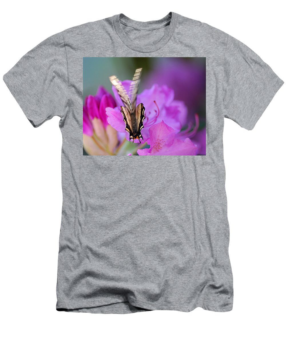 Butterfly Men's T-Shirt (Athletic Fit) featuring the photograph Scissorwings by Susan Capuano