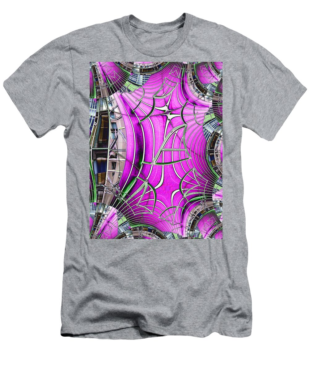 Seattle Men's T-Shirt (Athletic Fit) featuring the digital art Seattle Art Museum by Tim Allen