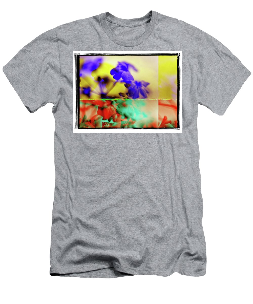 Flowers Men's T-Shirt (Athletic Fit) featuring the photograph Serendipity by Michael Ziegler