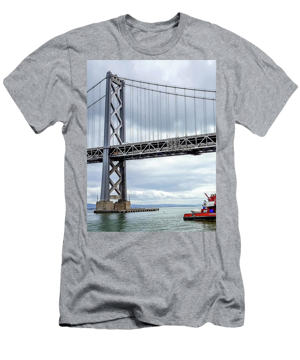 San Francisco Fire Department Barge T Shirt For Sale By Deb Breton