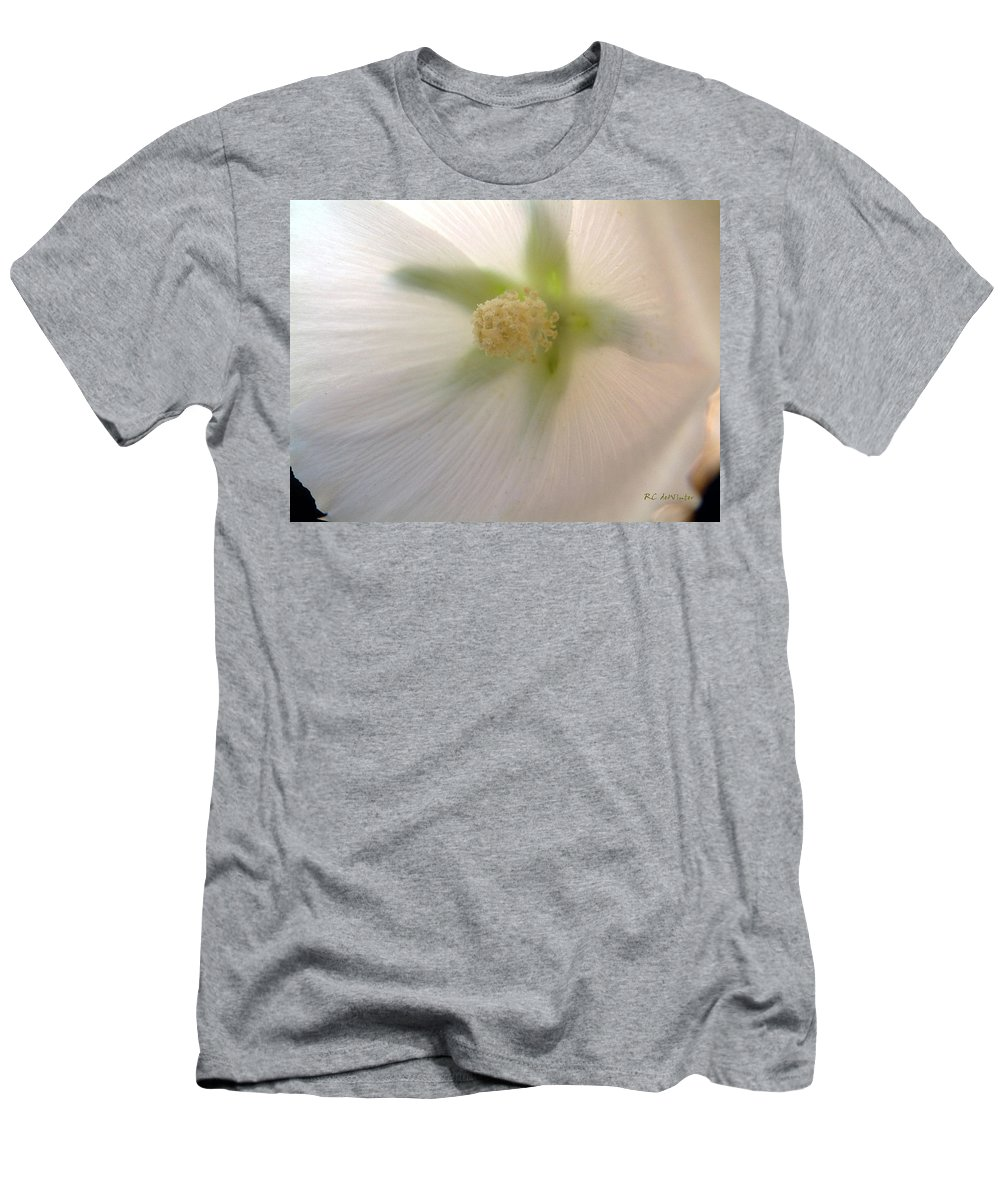 Blossom Men's T-Shirt (Athletic Fit) featuring the photograph Shimmer by RC DeWinter