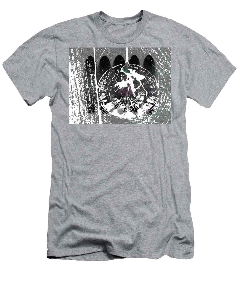 Abstract Men's T-Shirt (Athletic Fit) featuring the photograph Signs Of Spring by Lenore Senior