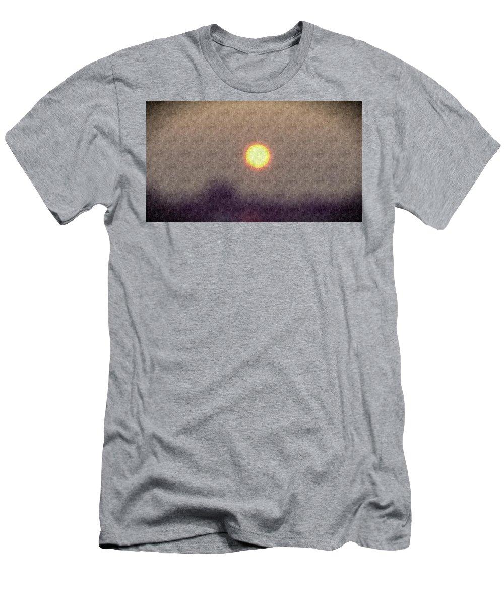 Sun Men's T-Shirt (Athletic Fit) featuring the photograph Silk Sol by Jennifer Kohler