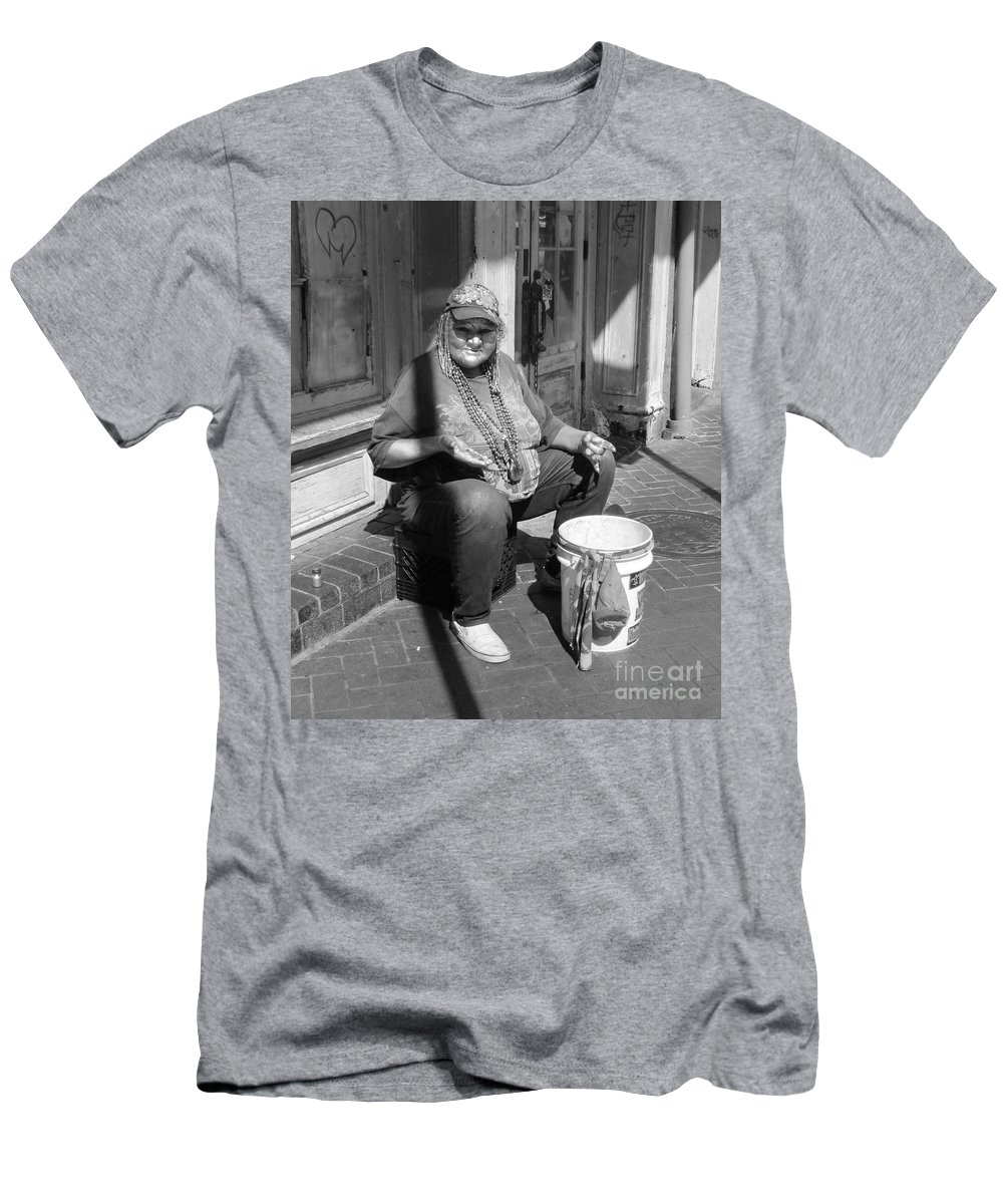 French Quarter Men's T-Shirt (Athletic Fit) featuring the photograph Silver Dime by Michelle Powell