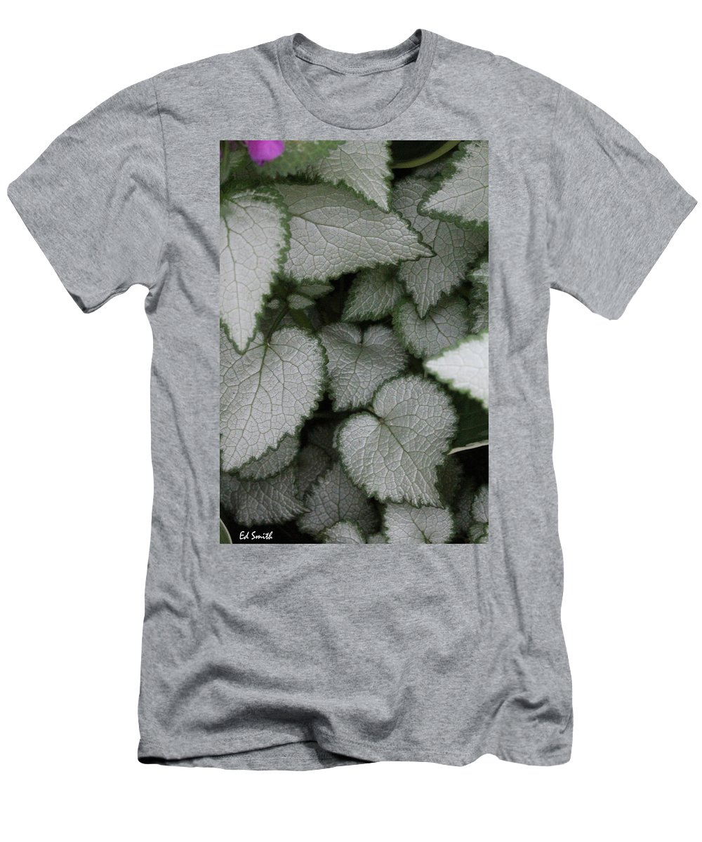 Silver Sensations Men's T-Shirt (Athletic Fit) featuring the photograph Silver Sensations by Ed Smith