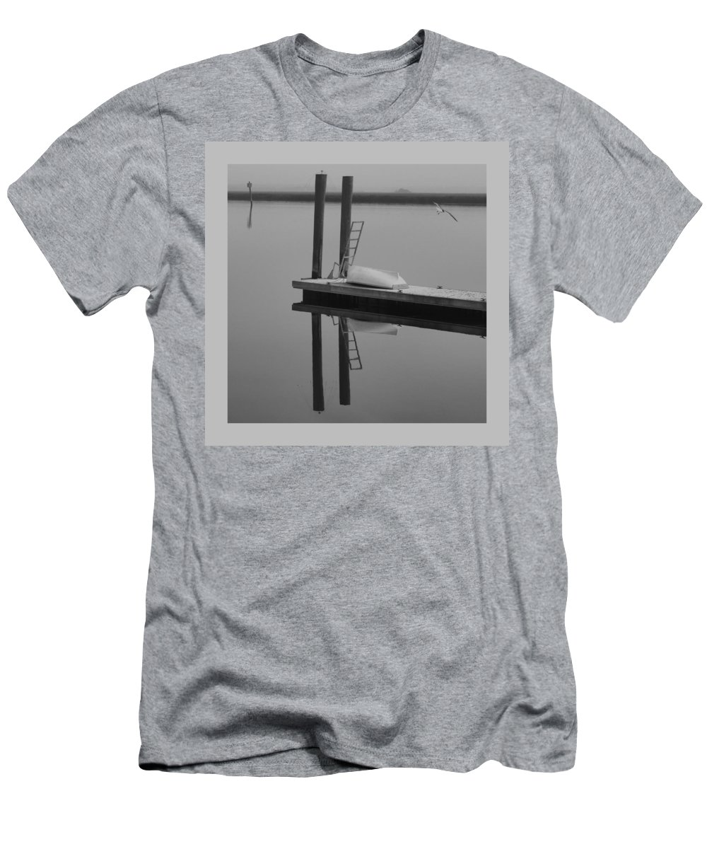 Coastal Men's T-Shirt (Athletic Fit) featuring the photograph Simple Things by Laura Ragland