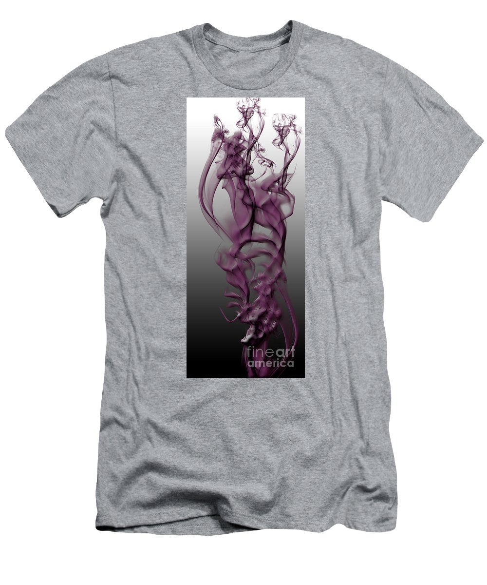 Clay Men's T-Shirt (Athletic Fit) featuring the digital art Skeletal Flow by Clayton Bruster