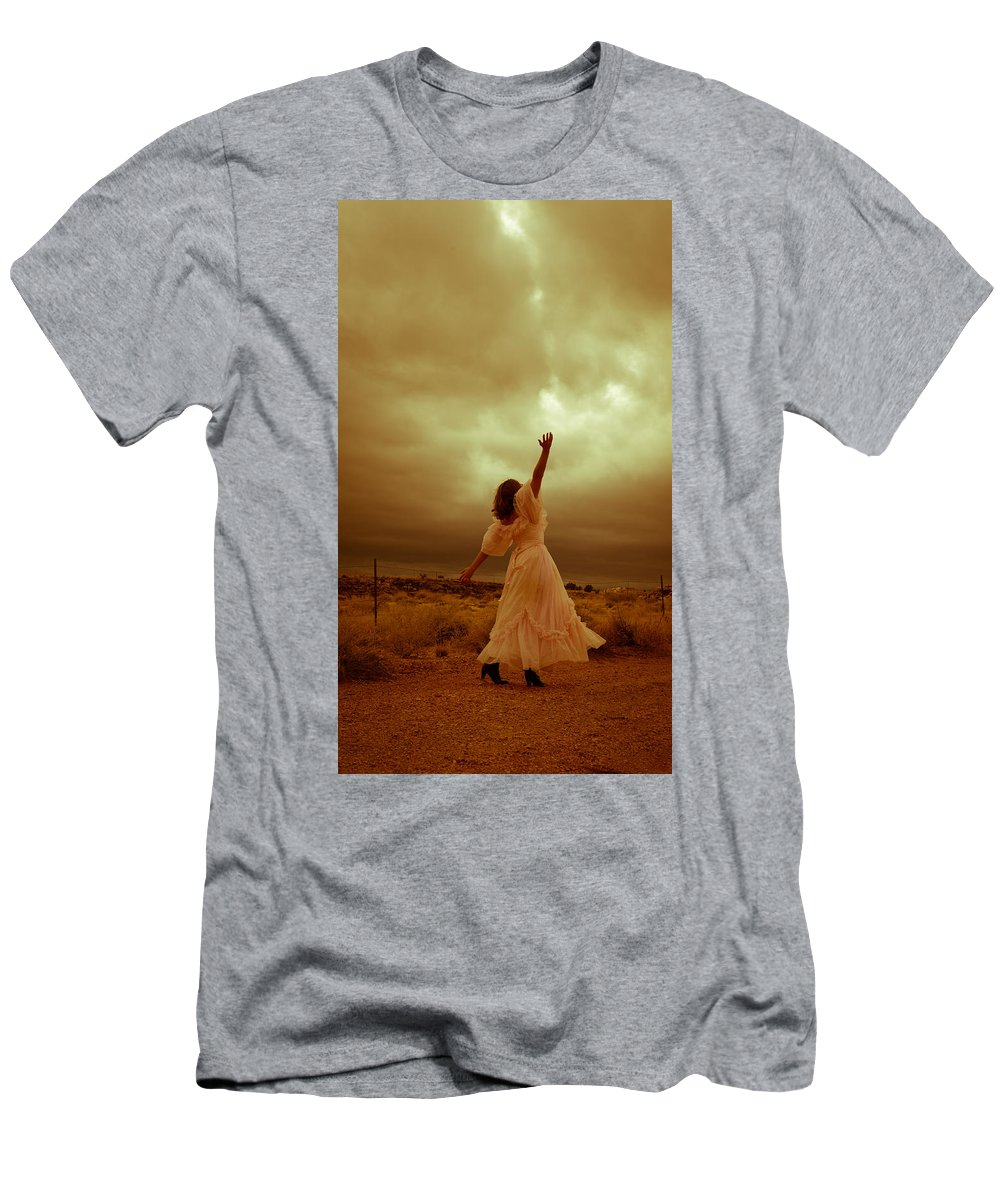 Storm Men's T-Shirt (Athletic Fit) featuring the photograph Sky Splitter by Scott Sawyer
