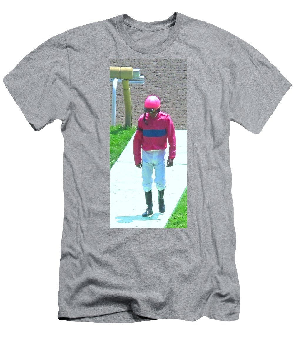 Men's T-Shirt (Athletic Fit) featuring the photograph Sometimes You Come Last by Ian MacDonald