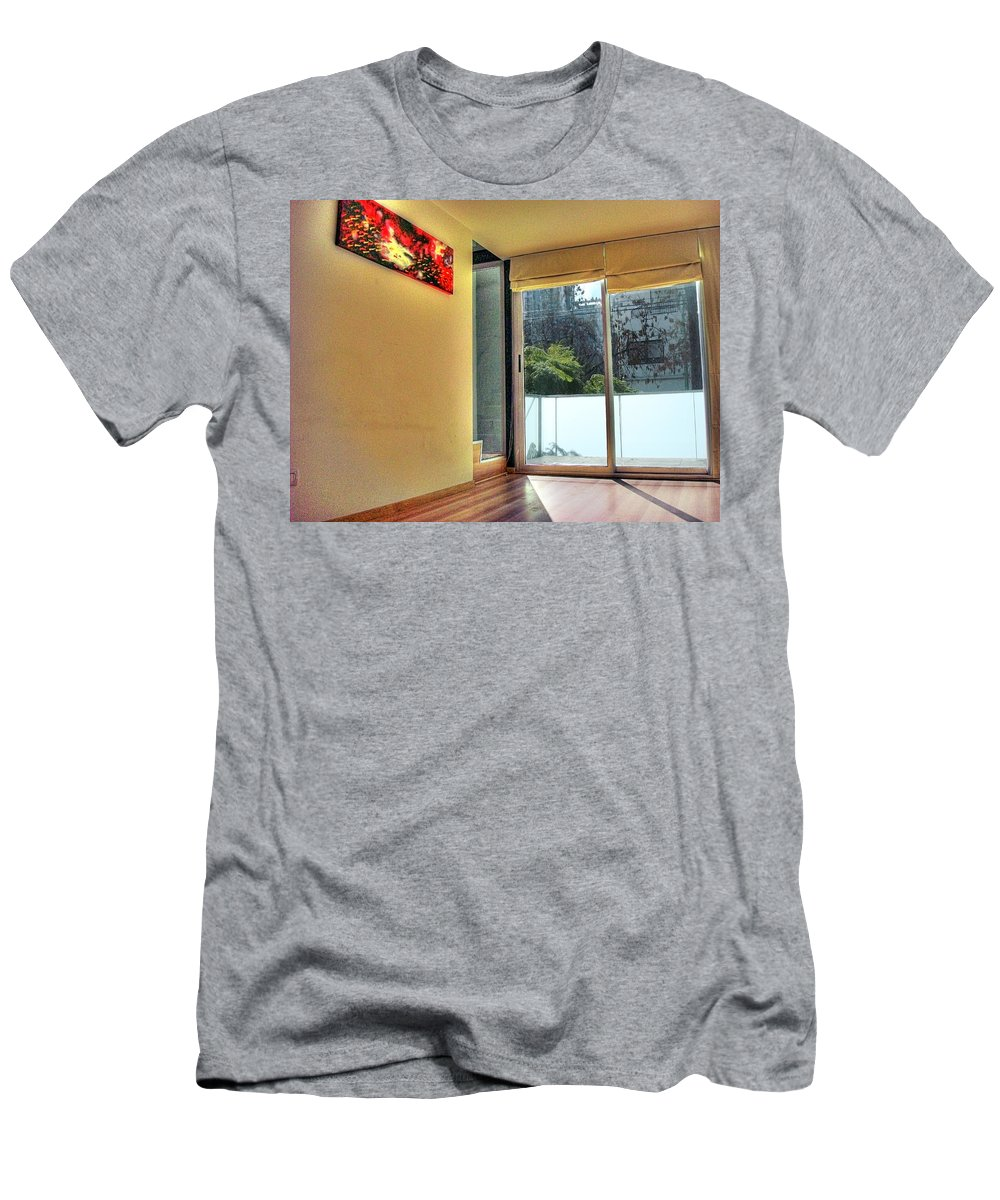 Wall Men's T-Shirt (Athletic Fit) featuring the photograph Spaces by Francisco Colon