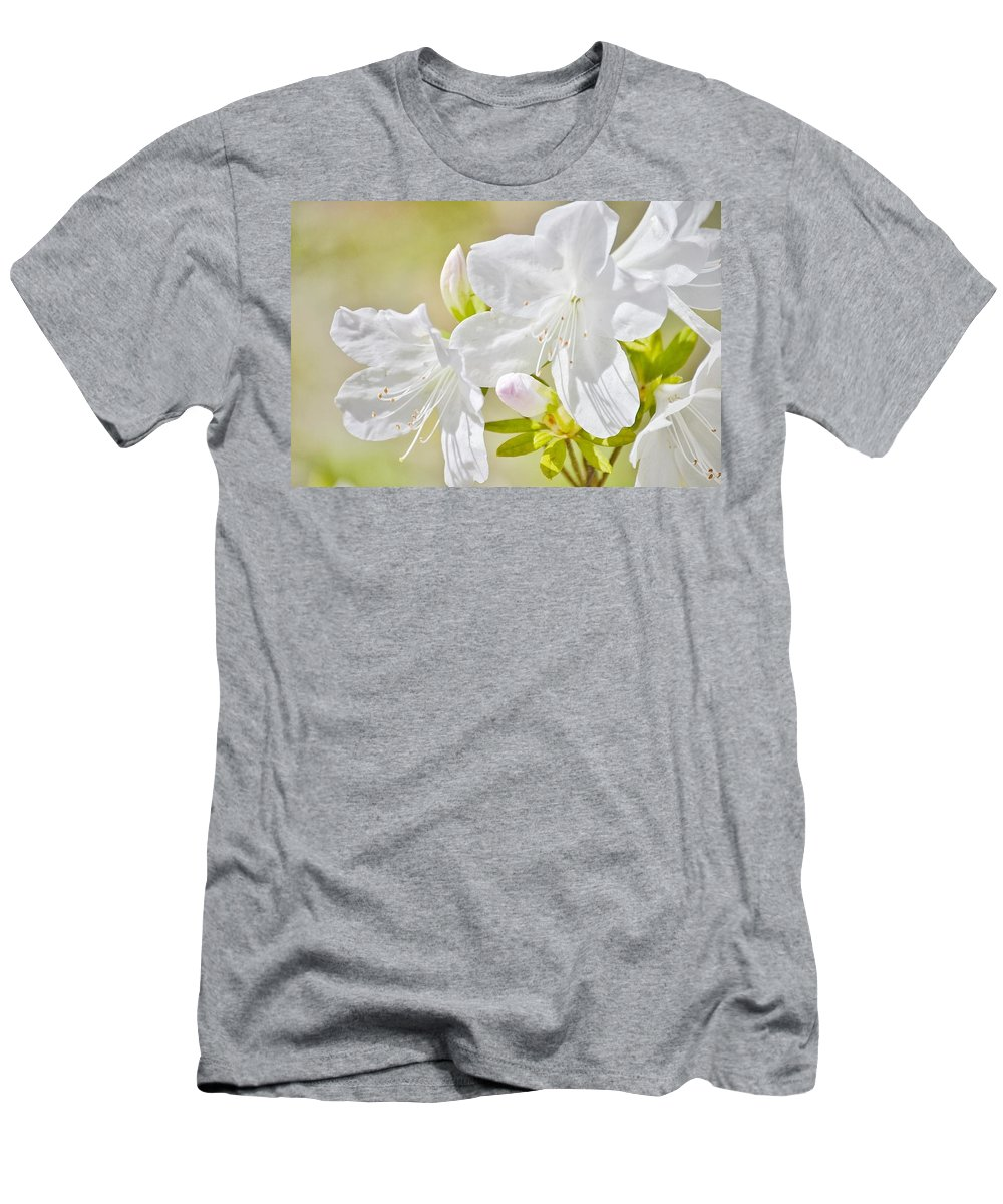 White Men's T-Shirt (Athletic Fit) featuring the photograph Spring by Christine DuMouchel