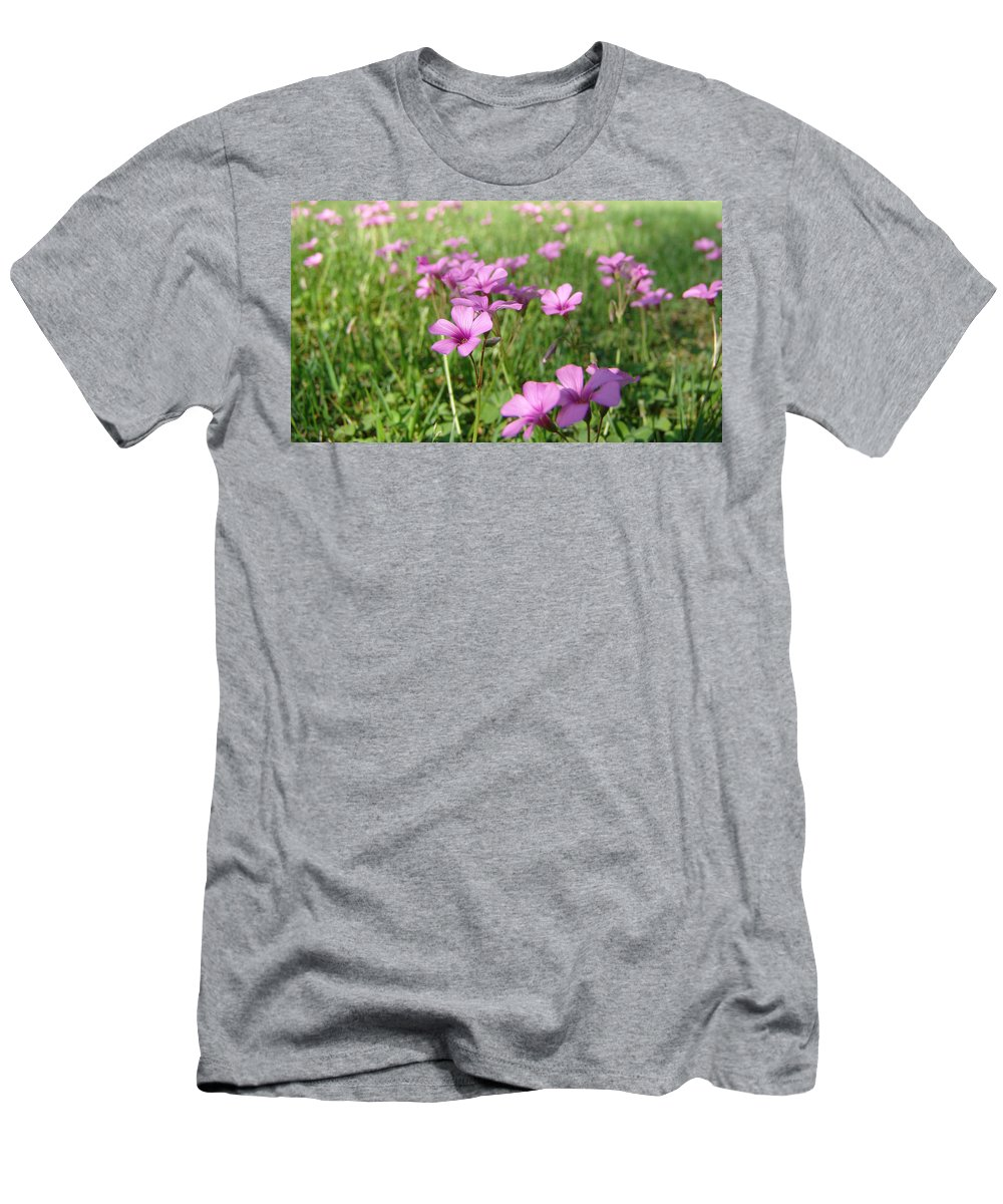 Landscape Men's T-Shirt (Athletic Fit) featuring the painting Spring Dream by Andrew King