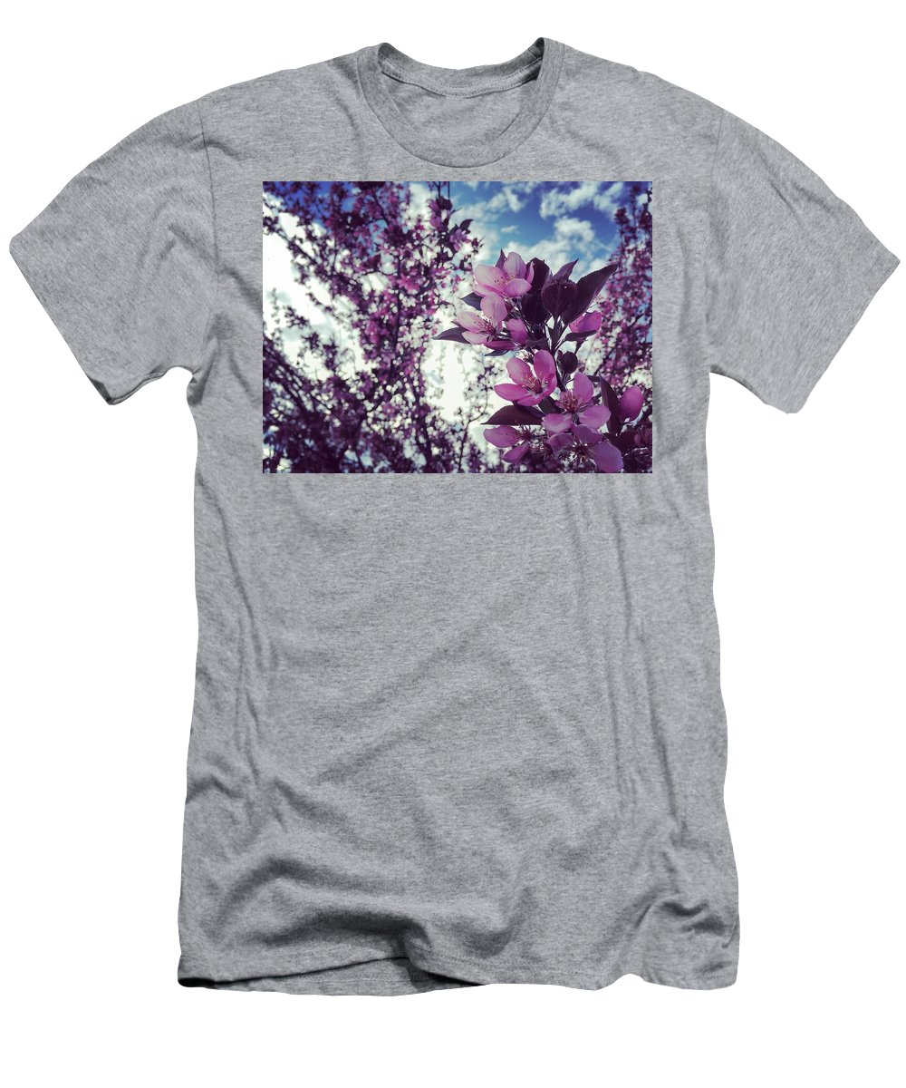 Spring Men's T-Shirt (Athletic Fit) featuring the photograph Spring Pink by Charla Dury