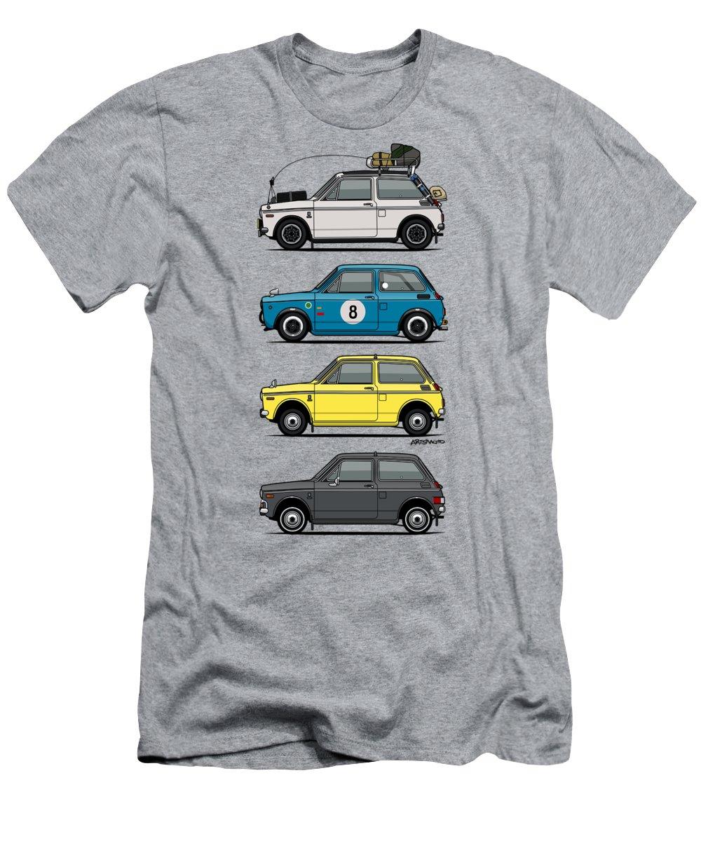Sixties Digital Art T-Shirts