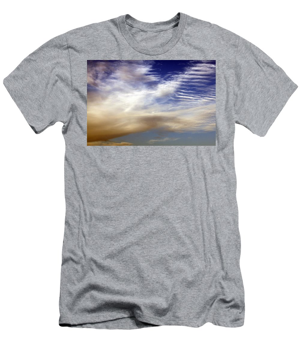 Heaven Men's T-Shirt (Athletic Fit) featuring the photograph Steps To Heaven by Munir Alawi