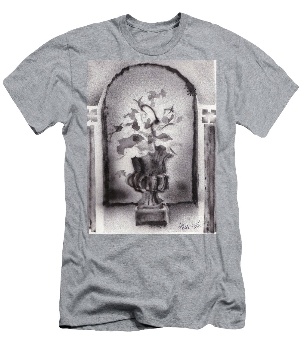 Still Life Men's T-Shirt (Athletic Fit) featuring the drawing Still Life 0505 01a by Henry Mills