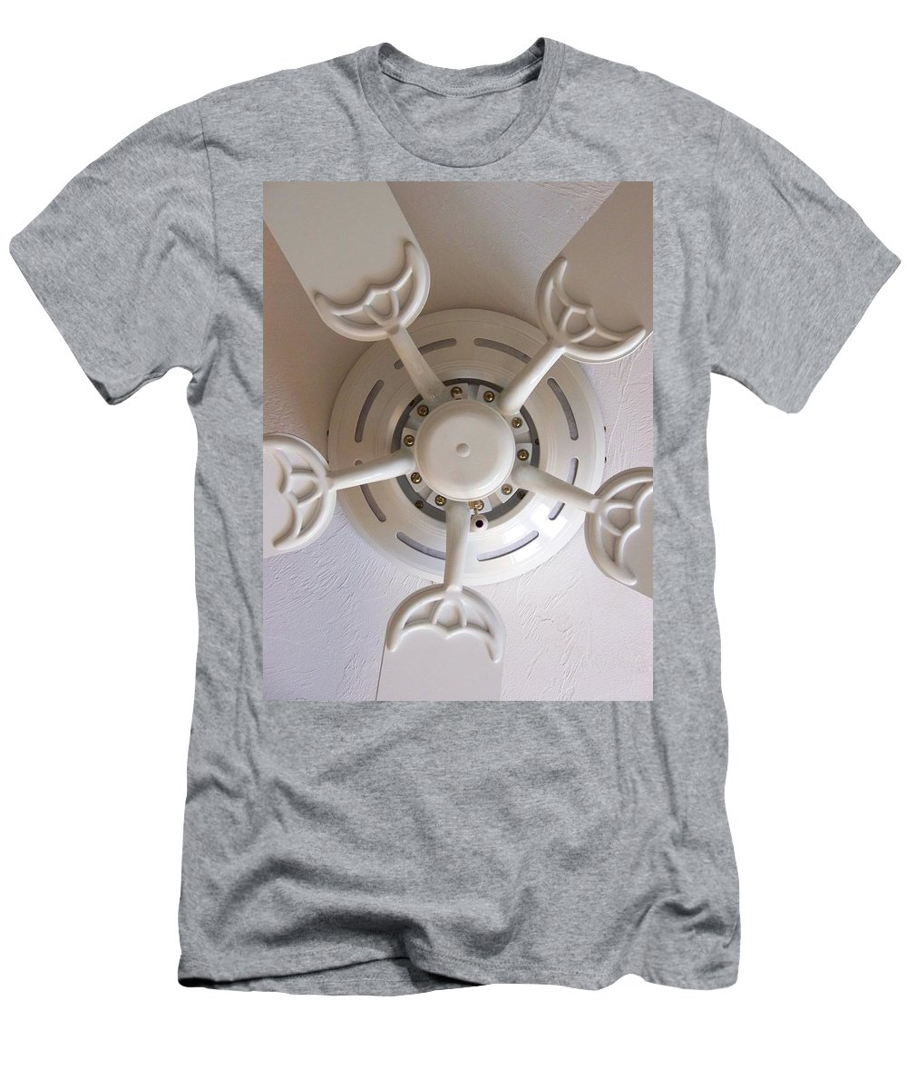 Fan Men's T-Shirt (Athletic Fit) featuring the photograph Study In Light by Laurie Paci