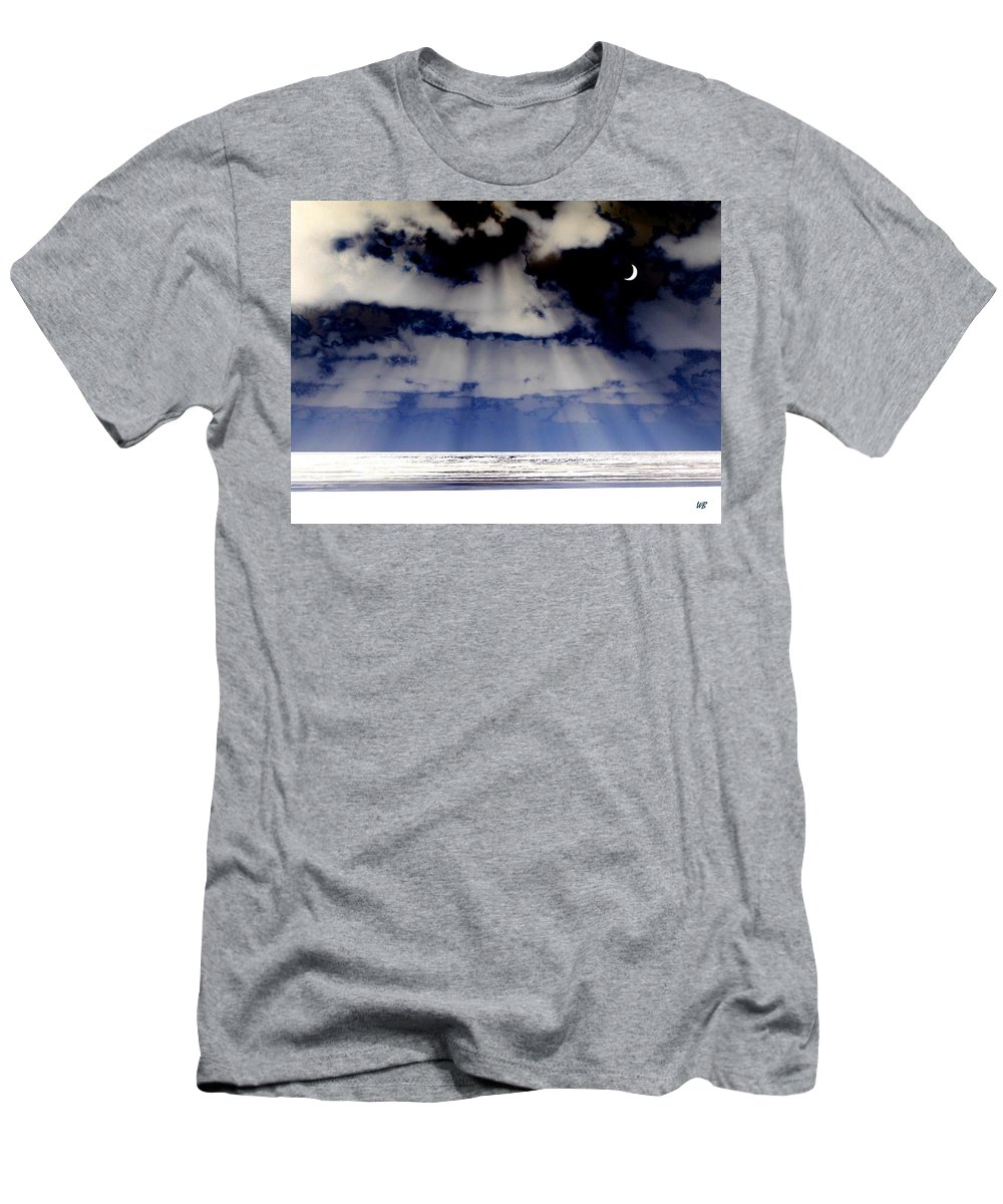 Surreal Men's T-Shirt (Athletic Fit) featuring the digital art Sub Zero by Will Borden