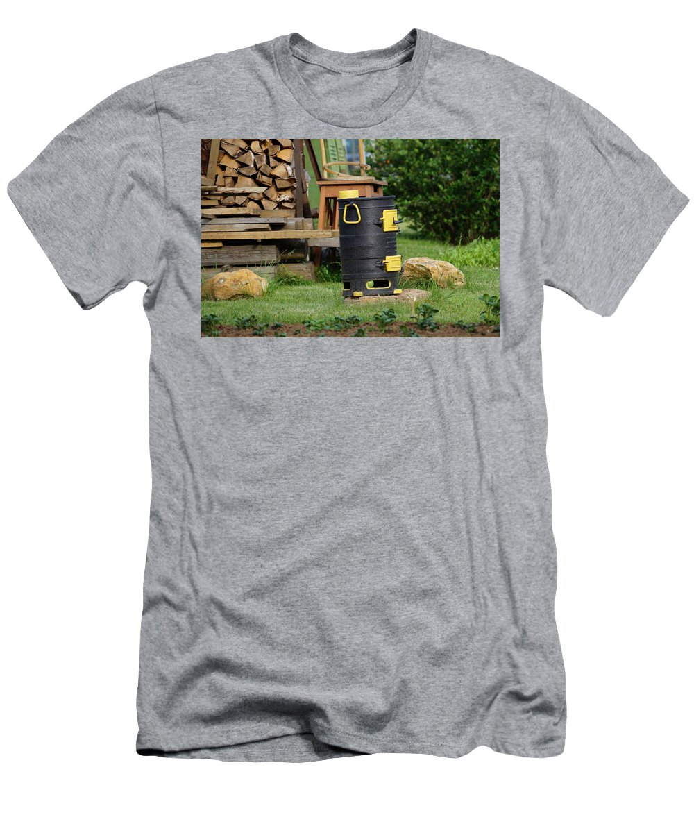 Landscape Men's T-Shirt (Athletic Fit) featuring the photograph Summer Fantasy by Nina Barsukova