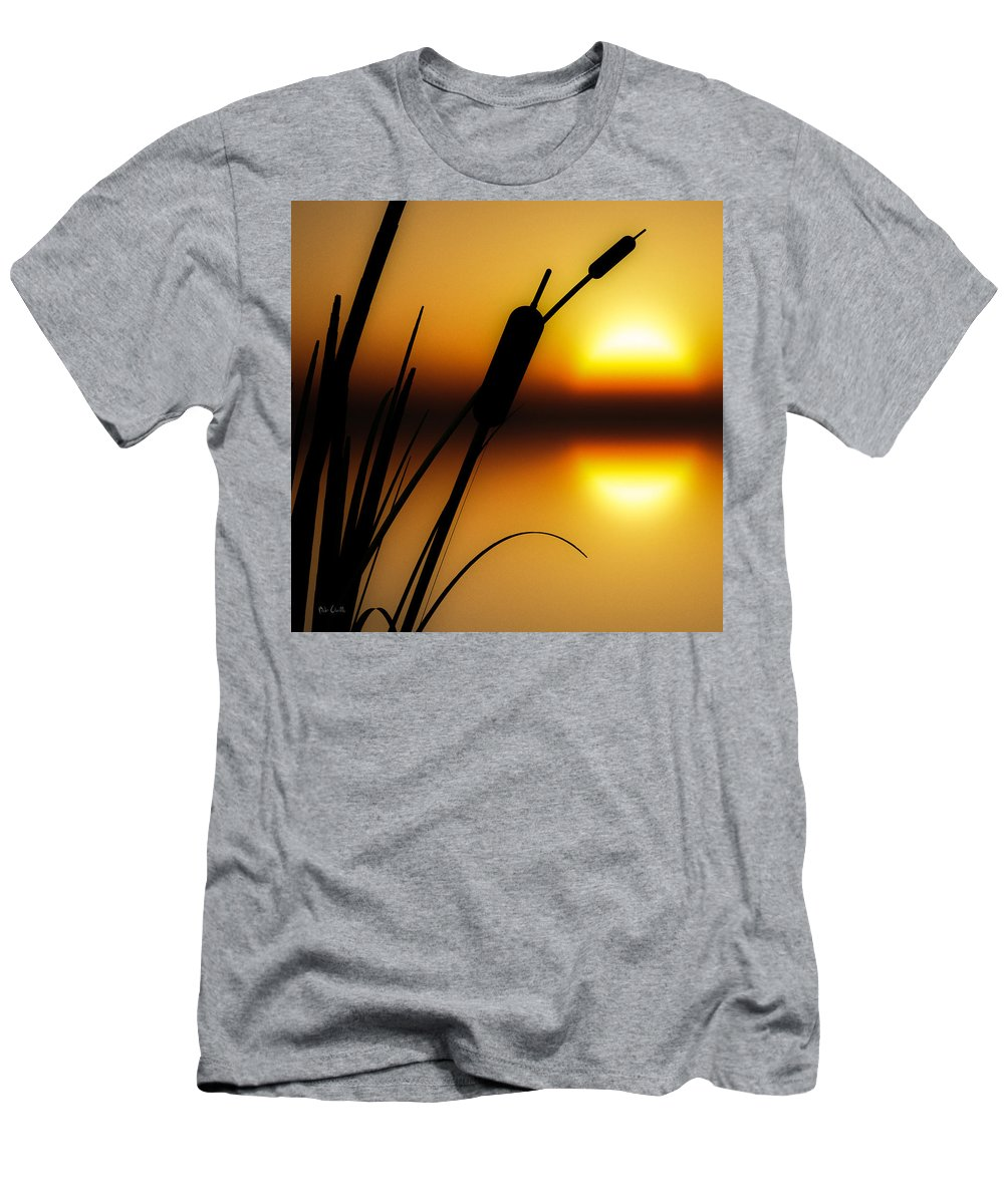 Tranquil Men's T-Shirt (Athletic Fit) featuring the photograph Summertime Whispers by Bob Orsillo