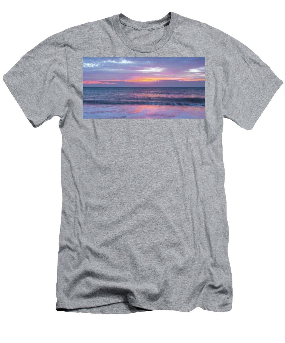 Sunrise Men's T-Shirt (Athletic Fit) featuring the photograph Sunrise 16-11-15 by A J Paul