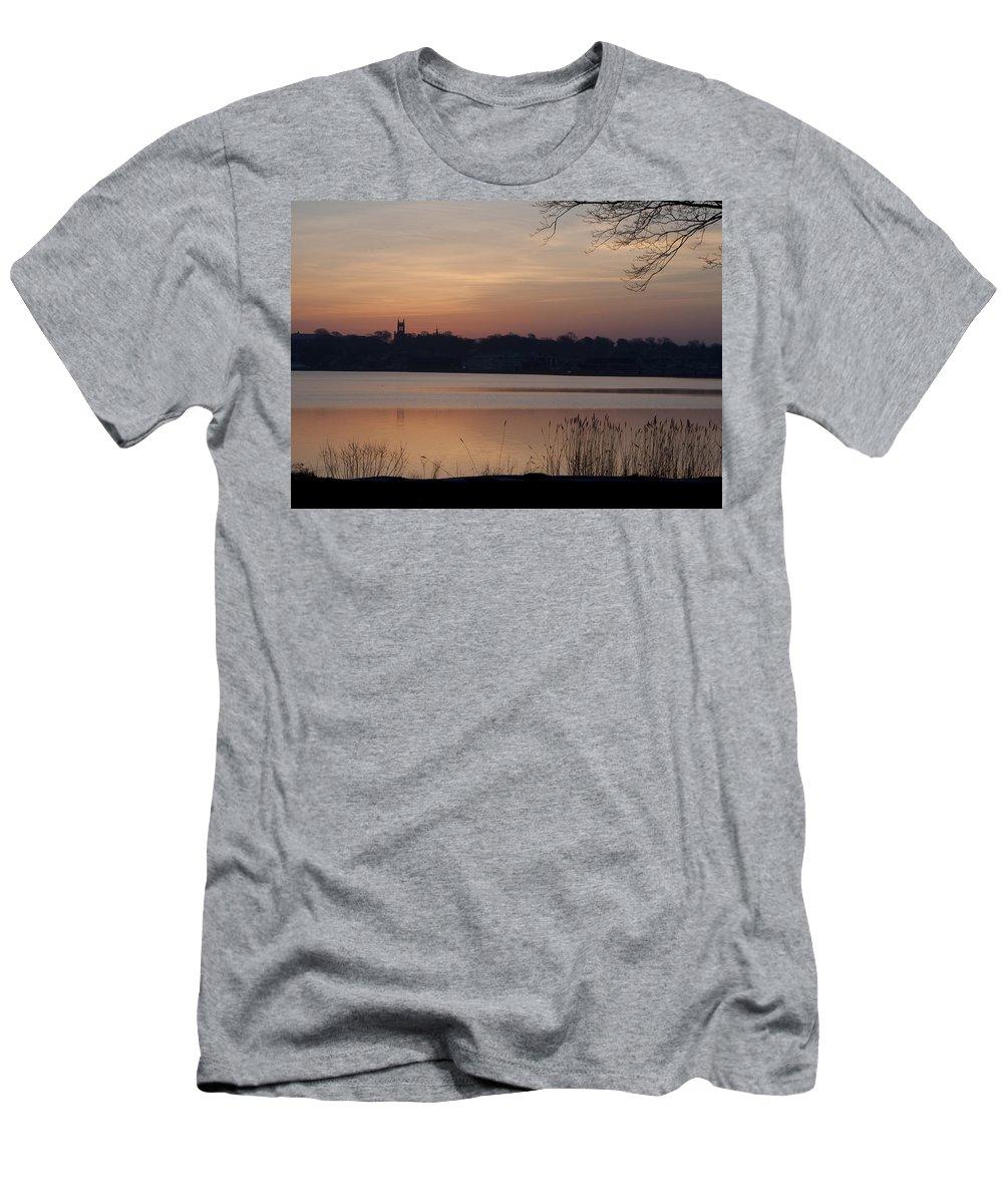 Sunrise Men's T-Shirt (Athletic Fit) featuring the photograph Sunrise by Steven Natanson