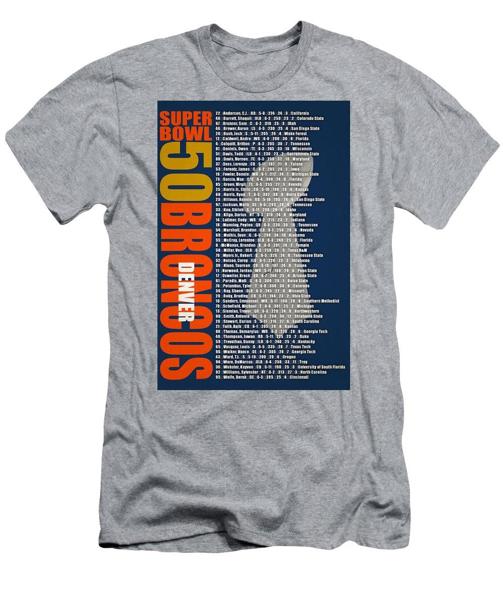 Super Bowl Men s T-Shirt (Athletic Fit) featuring the photograph Super Bowl  50 2c2f8b47e