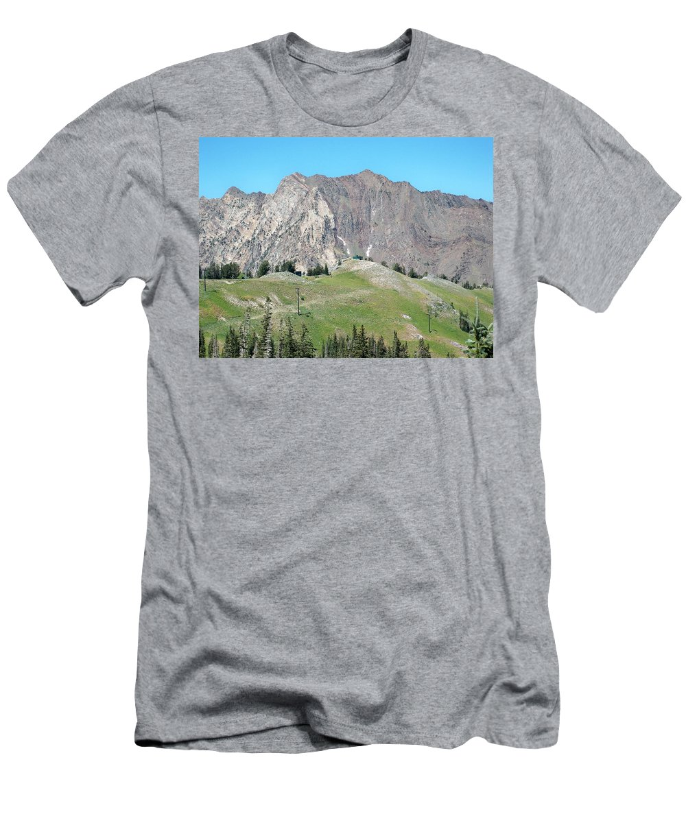 Landscape Men's T-Shirt (Athletic Fit) featuring the photograph Superior by Michael Cuozzo
