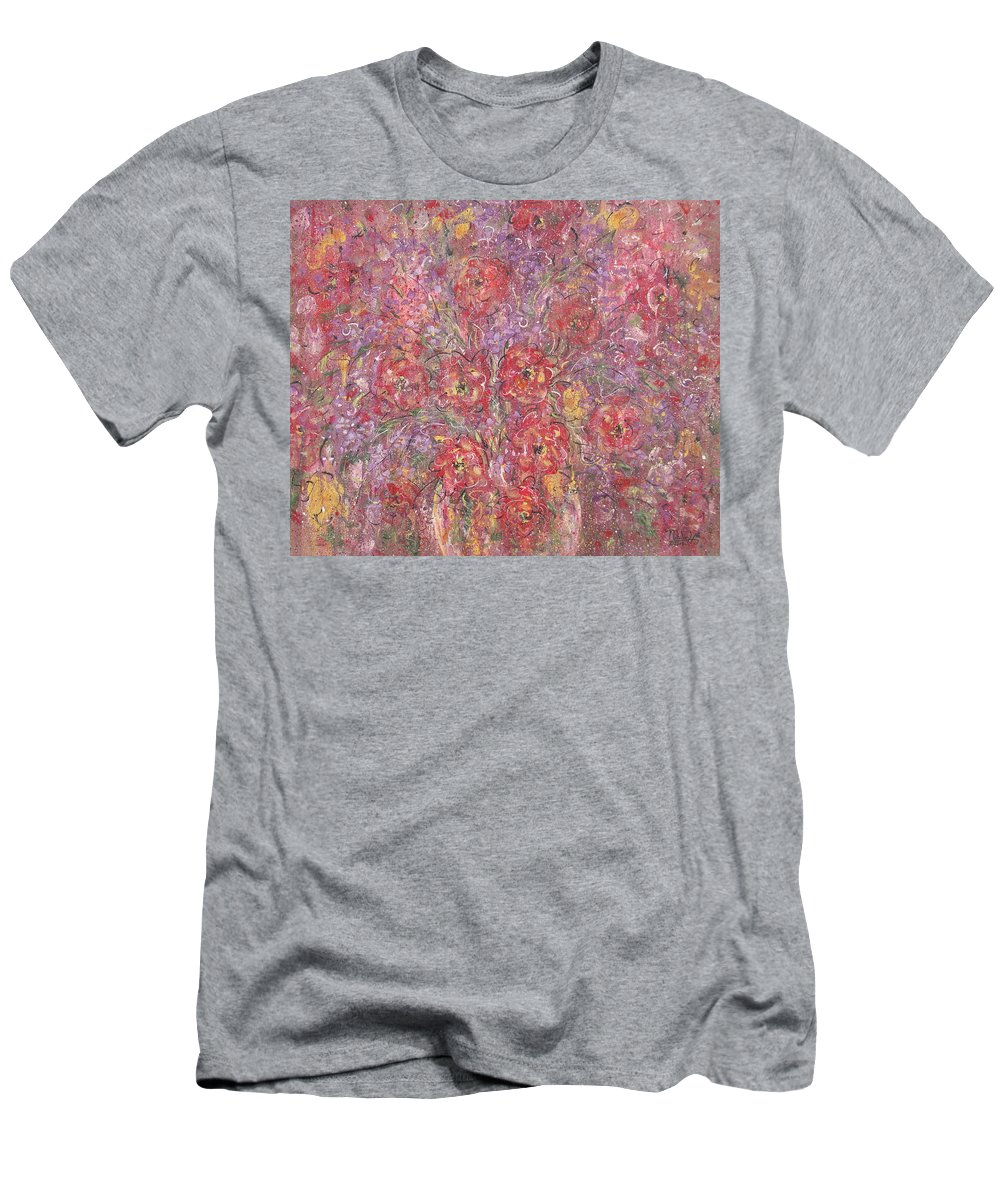 Still Life Men's T-Shirt (Athletic Fit) featuring the painting Sweet Memories by Natalie Holland