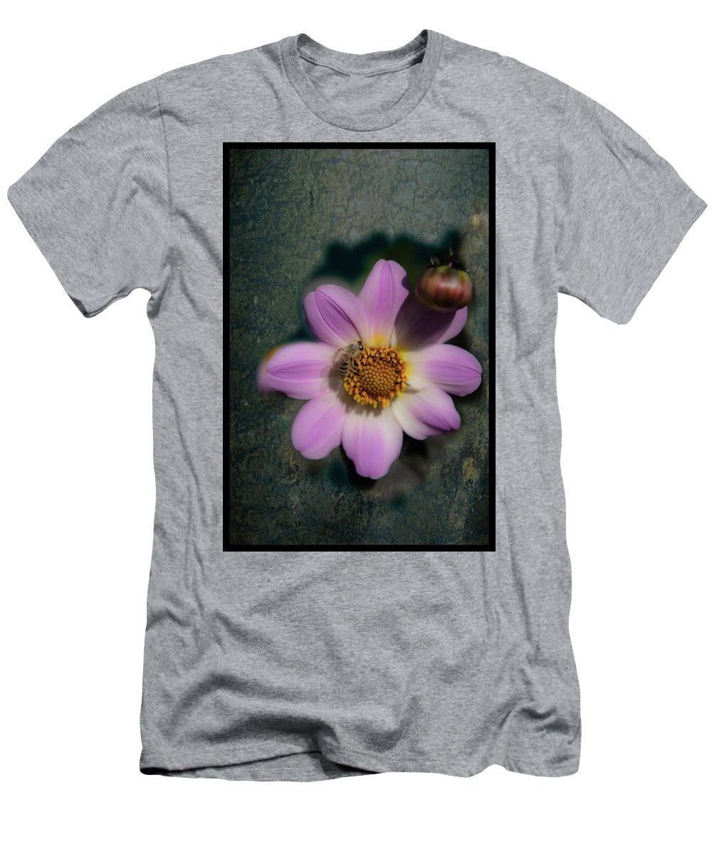 Flower Men's T-Shirt (Athletic Fit) featuring the photograph Symbiotic by Patricia Dennis