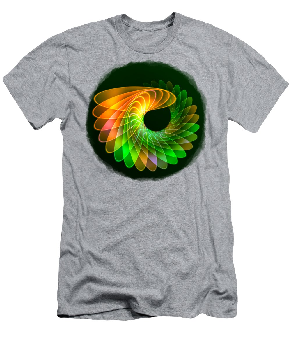 Abstract T-Shirt featuring the photograph Synergy by John M Bailey