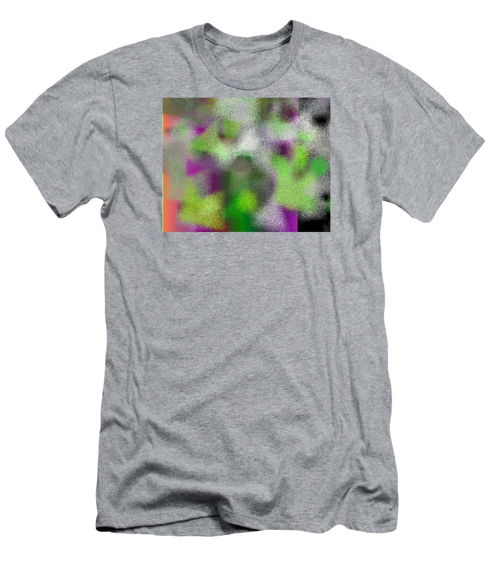 Abstract Men's T-Shirt (Athletic Fit) featuring the digital art T.1.1101.69.5x4.5120x4096 by Gareth Lewis