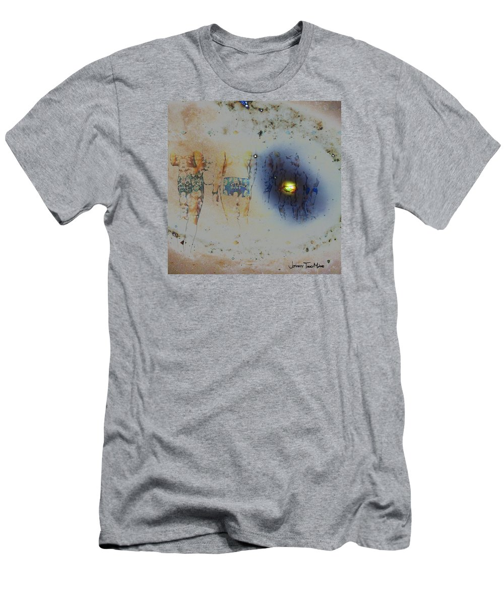 Male Men's T-Shirt (Athletic Fit) featuring the photograph Take Me To Your Heaven by Jeffrey Todd Moore