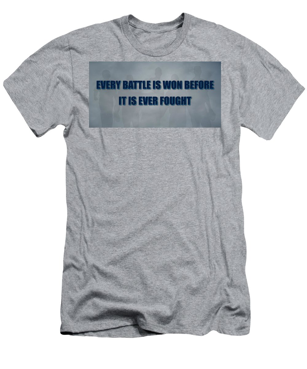 Rays Men's T-Shirt (Athletic Fit) featuring the photograph Tampa Bay Rays Battle by Joe Hamilton