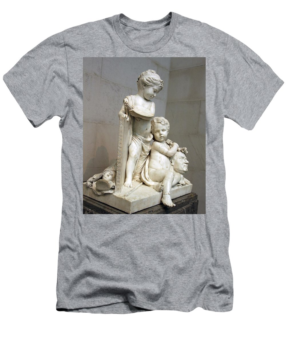 Painting Men's T-Shirt (Athletic Fit) featuring the photograph Tassaert's Painting And Sculpture by Cora Wandel