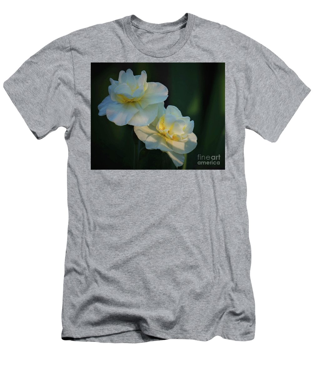 Spring Men's T-Shirt (Athletic Fit) featuring the photograph The Arrival Of Spring by Karen Beasley