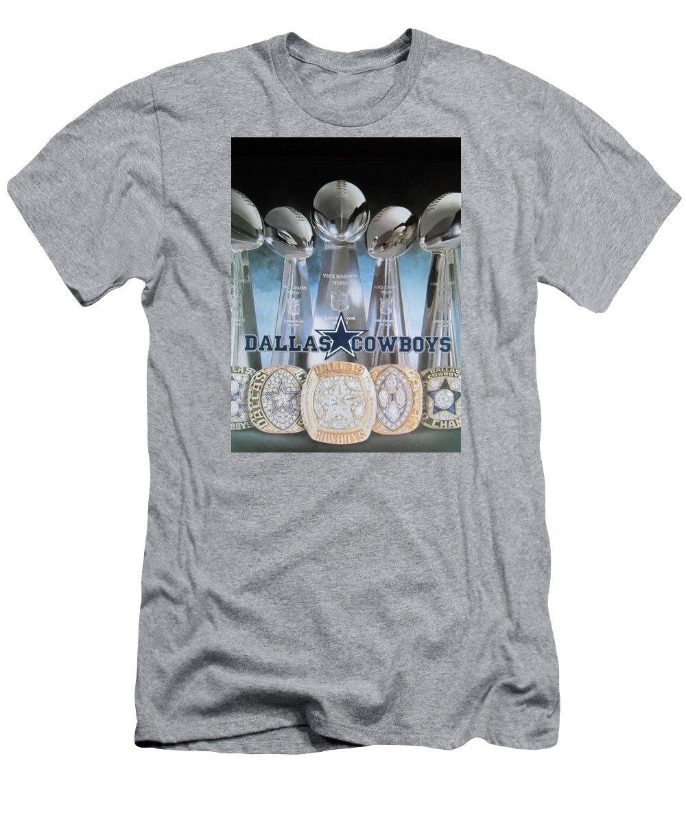 detailed look 7c59d c77c8 The Dallas Cowboys Championship Hardware Men's T-Shirt (Athletic Fit)